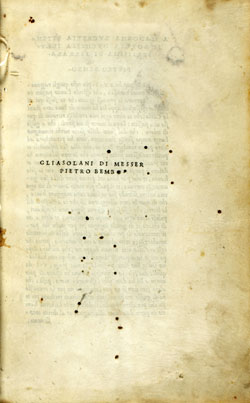 Cover of Gli Asolani