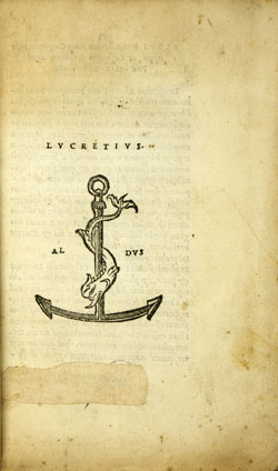 Cover of Lucretius